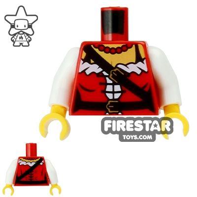 LEGO Mini Figure Torso - Pirate Princess