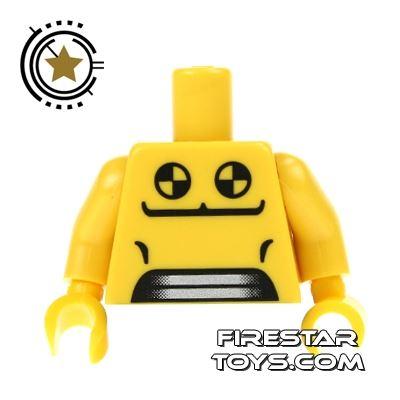 LEGO Mini Figure Torso - Crash Test Dummy