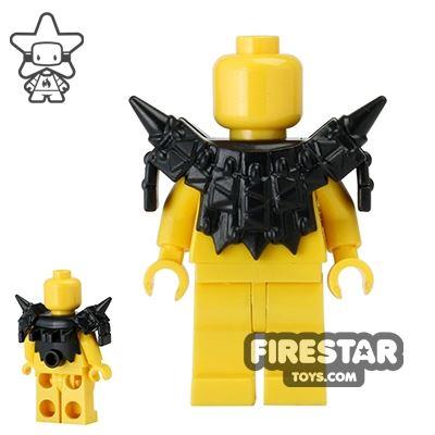 BrickWarriors - Lizardman Armour - Black