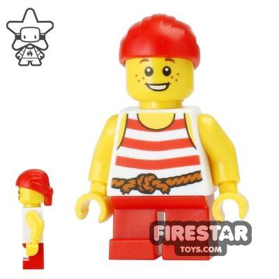 LEGO Pirate Mini Figure - Pirate Boy