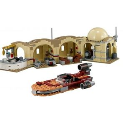 Custom Mini Set - Star Wars - Mos Eisley Cantina and Landspeeder