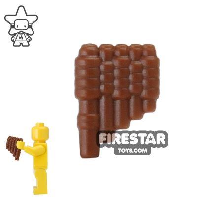BrickWarriors - Reed Pipes - Brown