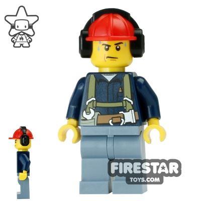 LEGO City Mini Figure - Construction Worker 17