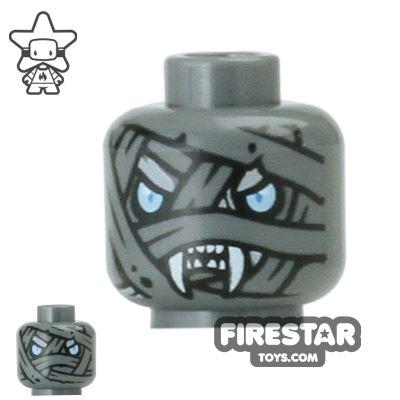 LEGO Mini Figure Heads - Saber-Tooth Tiger Warrior