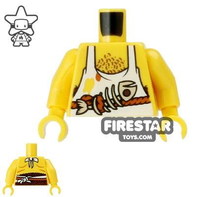 LEGO Mini Figure Torso - Pirate Cook's Apron