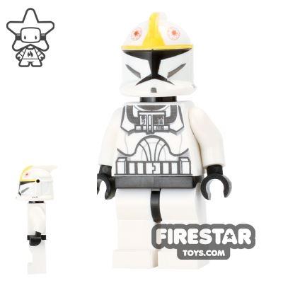 LEGO Star Wars Mini Figure - Clone Pilot - Black Head