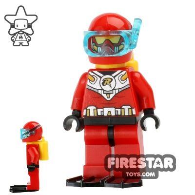 LEGO Super Heroes Mini Figure - Scuba Robin