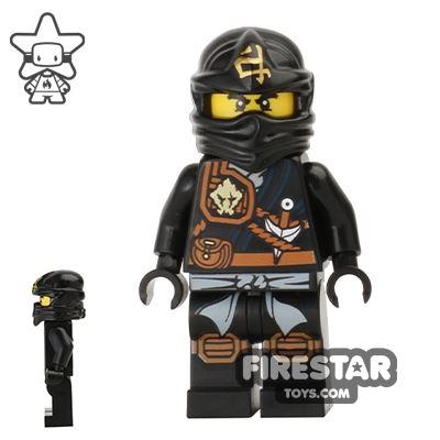 LEGO Ninjago Mini Figure - Cole - Knee Pads