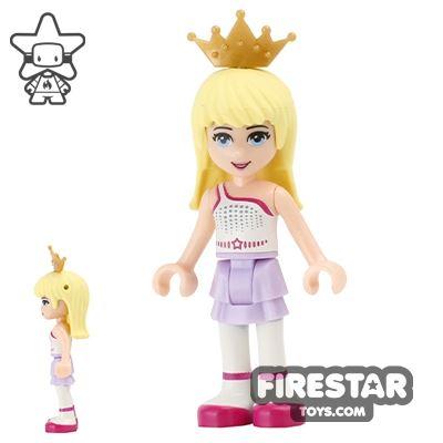 LEGO Friends Mini Figure - Stephanie - Gold Tiara