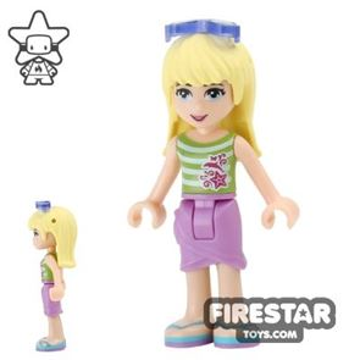 LEGO Friends Mini Figure - Stephanie - Skirt and Sunglasses
