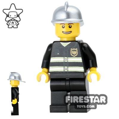 LEGO City Mini Figure – Fireman - Smile