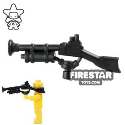BrickWarriors - Steampunk Rifle - Black