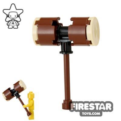 LEGO - Harley Quinn's Hammer - Reddish Brown