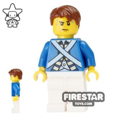 LEGO Pirate Mini Figure - Bluecoat Soldier 5