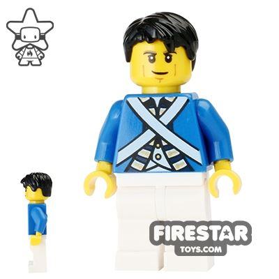 LEGO Pirate Mini Figure - Bluecoat Soldier 6