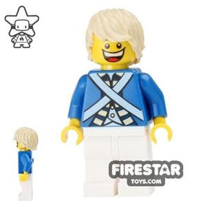 LEGO Pirate Minifigure Bluecoat Soldier 7
