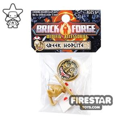 BrickForge Accessory Pack - Greek Hoplite - Macedonian