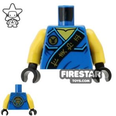 LEGO Mini Figure Torso - Ninjago - Lightning Energy