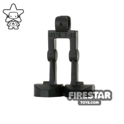 LEGO Mini Figure Legs - Battle Droid - Black