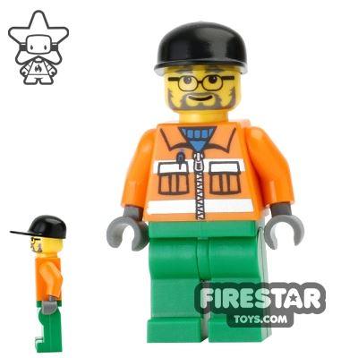 LEGO City Mini Figure - Sanitary Engineer 2