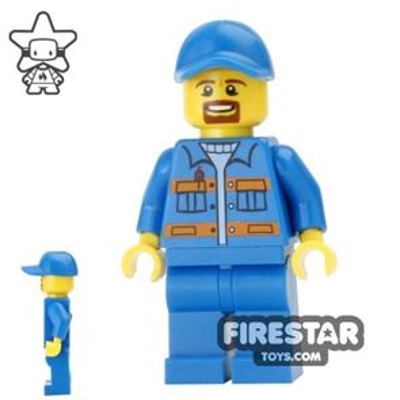 LEGO City Mini Figure - Garbage Man
