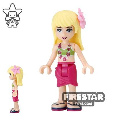 LEGO Friends Mini Figure - Stephanie - Flower Garland