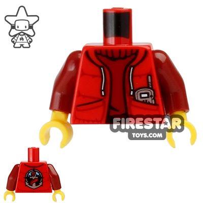 LEGO Mini Figure Torso - Deep Sea Submariner Jacket