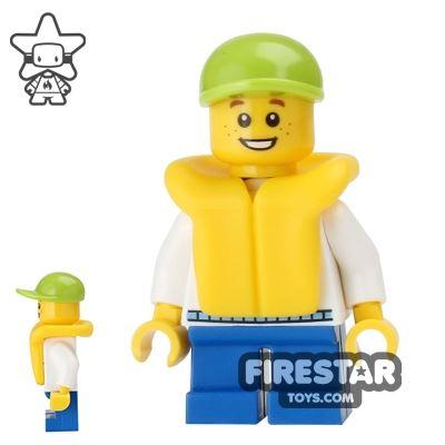 LEGO City Mini Figure - Fishing Boat Passenger