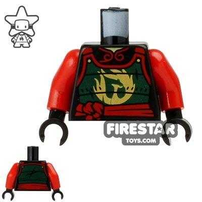 LEGO Mini Figure Torso - Ninjago - Samurai Armor with Phoenix