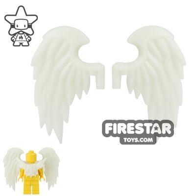 BrickWarriors - Bird Wings - Glow in the Dark