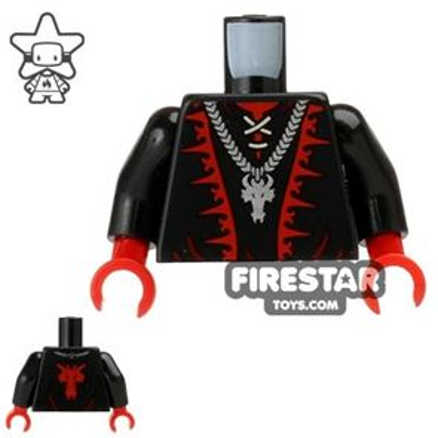 LEGO Mini Figure Torso - Dragon Wizard