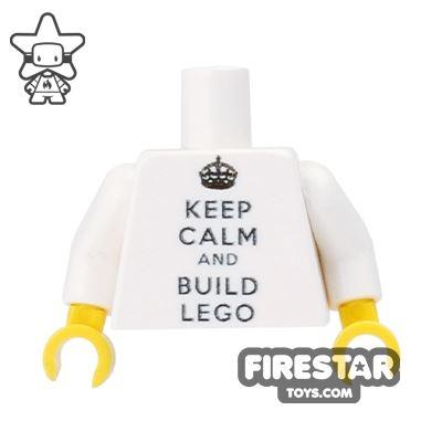 Custom Design Torso - Keep Calm and Build