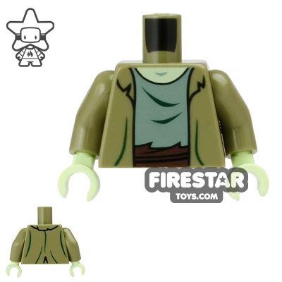 LEGO Mini Figure Torso - Zombie
