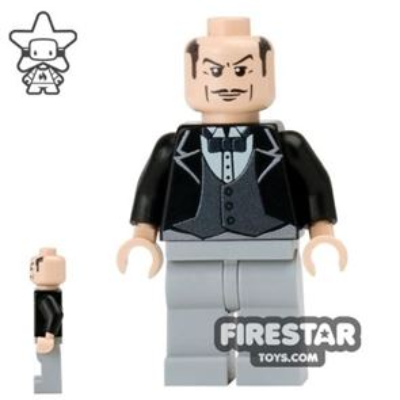 Custom Design Mini Figure - Batman's Butler Alfred