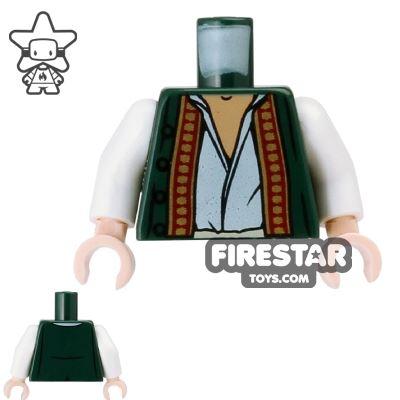 LEGO Mini Figure Torso - Pirates of the Caribbean - Green Vest