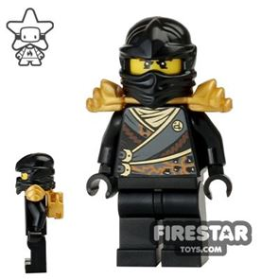 LEGO Ninjago Mini Figure - Cole - Rebooted with Armour