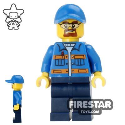 LEGO City Mini Figure - Snowplow Driver