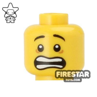 LEGO Mini Figure Heads - Scared