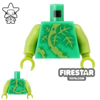 LEGO Mini Figure Torso - Plant Monster