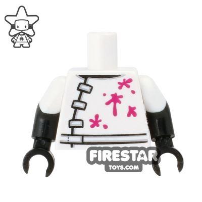 LEGO Mini Figure Torso - Mad Scientist Lab Coat
