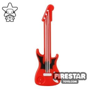 LEGO - Electric Guitar - Red and Black