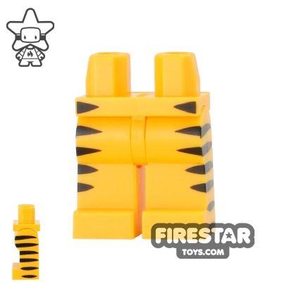 LEGO Mini Figure Legs - Tiger Stripes