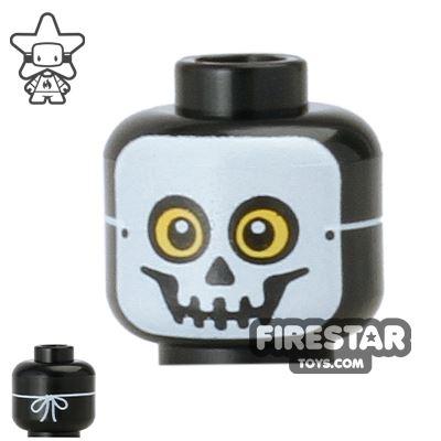 LEGO Mini Figure Heads - Skeleton Mask