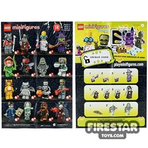 LEGO - Minifigures Series 14 Collectable Leaflet