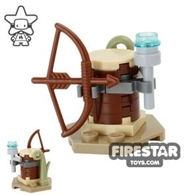 Custom Mini Set - Star Wars - Ewok Weapon Rack