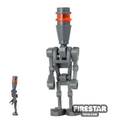 LEGO Star Wars Mini Figure - Assassin Droid - Dark Blueish Gray