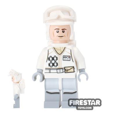 LEGO Star Wars Minifigure Hoth Rebel Trooper White Jacket