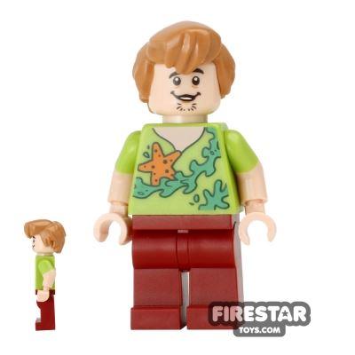 LEGO Scooby-Doo Figure - Shaggy - Starfish Shirt