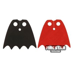 LEGO Cape - Vampire - Red and Black