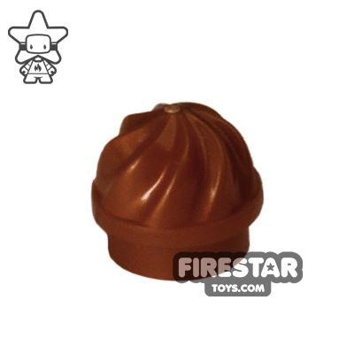 Ice Cream Swirl - Reddish Brown